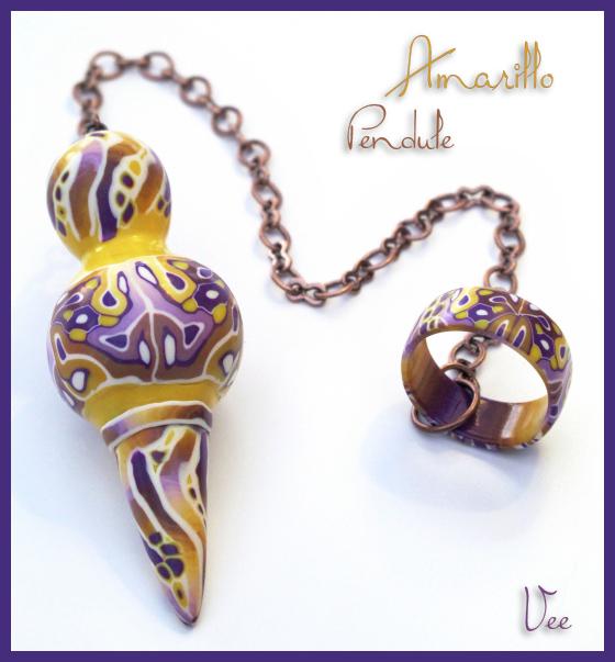 Amarillo - Pendule