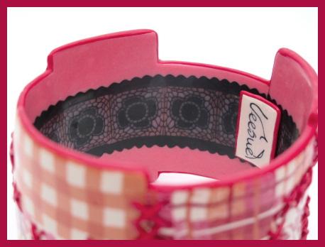 Bracelet Couture - Détail intérieur